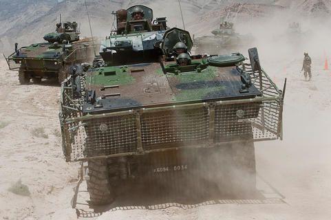LES MUTATIONS DE L'ARMÉE DE TERRE: LE PROGRAMME SCORPION VBCI-en-Afghanistan