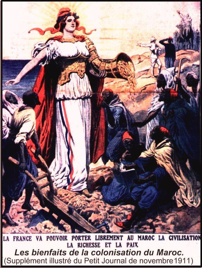 AFFICHES PUB ET PRODUITS DE NOTRE ENFANCE AU MAROC - Page 3 COLO-La-colo-du-Maroc-1911-MARIANNE