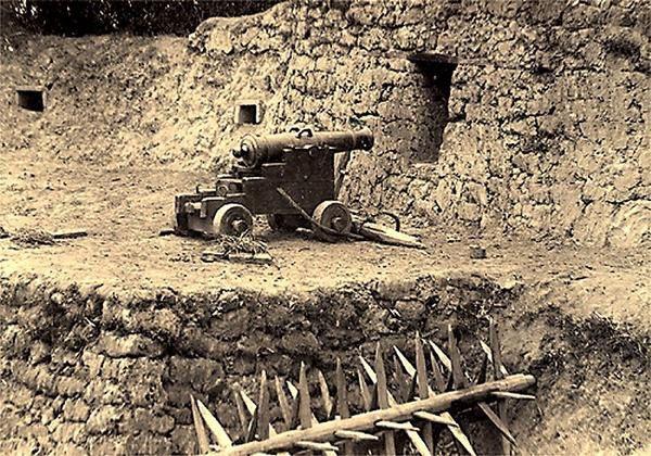 Siège de Tuyên Quang Guerre-Franco-Chinoise-SonTay-dans-la-citadelle