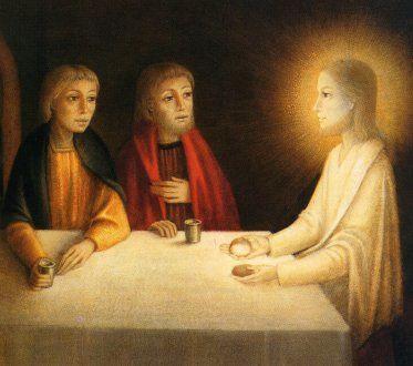 La joie de l'Évangile/Citation/ 13 Emmaus-repas