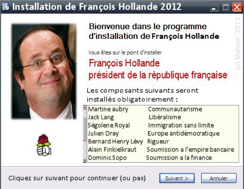 Gouvernement Valls 2 ça va valser ! Macron ne vous offrira pas de macarons...:) Francois-Hollande-installation
