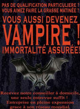 Gamme de Produits de beauté AMARANTHE pour vampires Pub-vampire