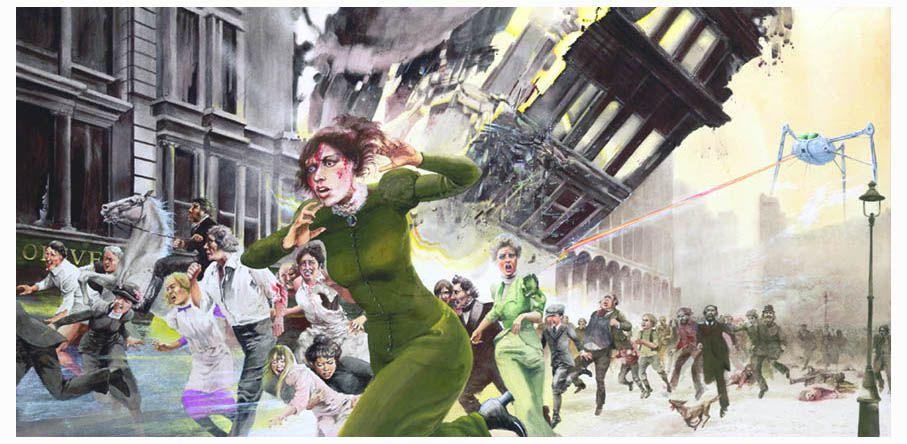 La Guerre des Mondes par Orson Welles  Panic