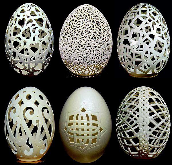 فن النقش على البيض Sculture-Oeuf-1