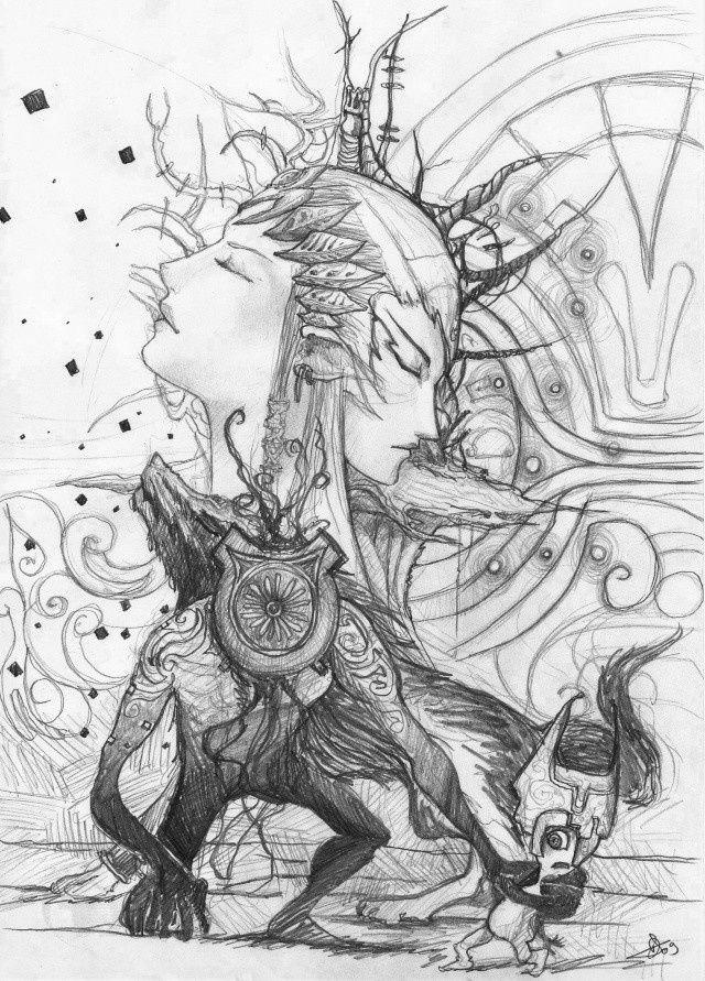 ~GinL~ illustrations et dessins Zelda10