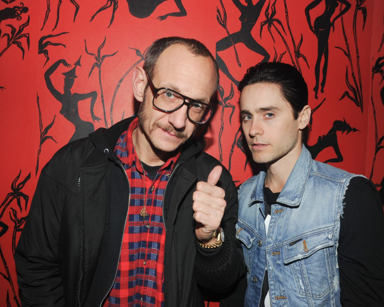 Jared Leto @ Last Magazine, J.Mendel and Proenza Parties Close Fashion Week  001