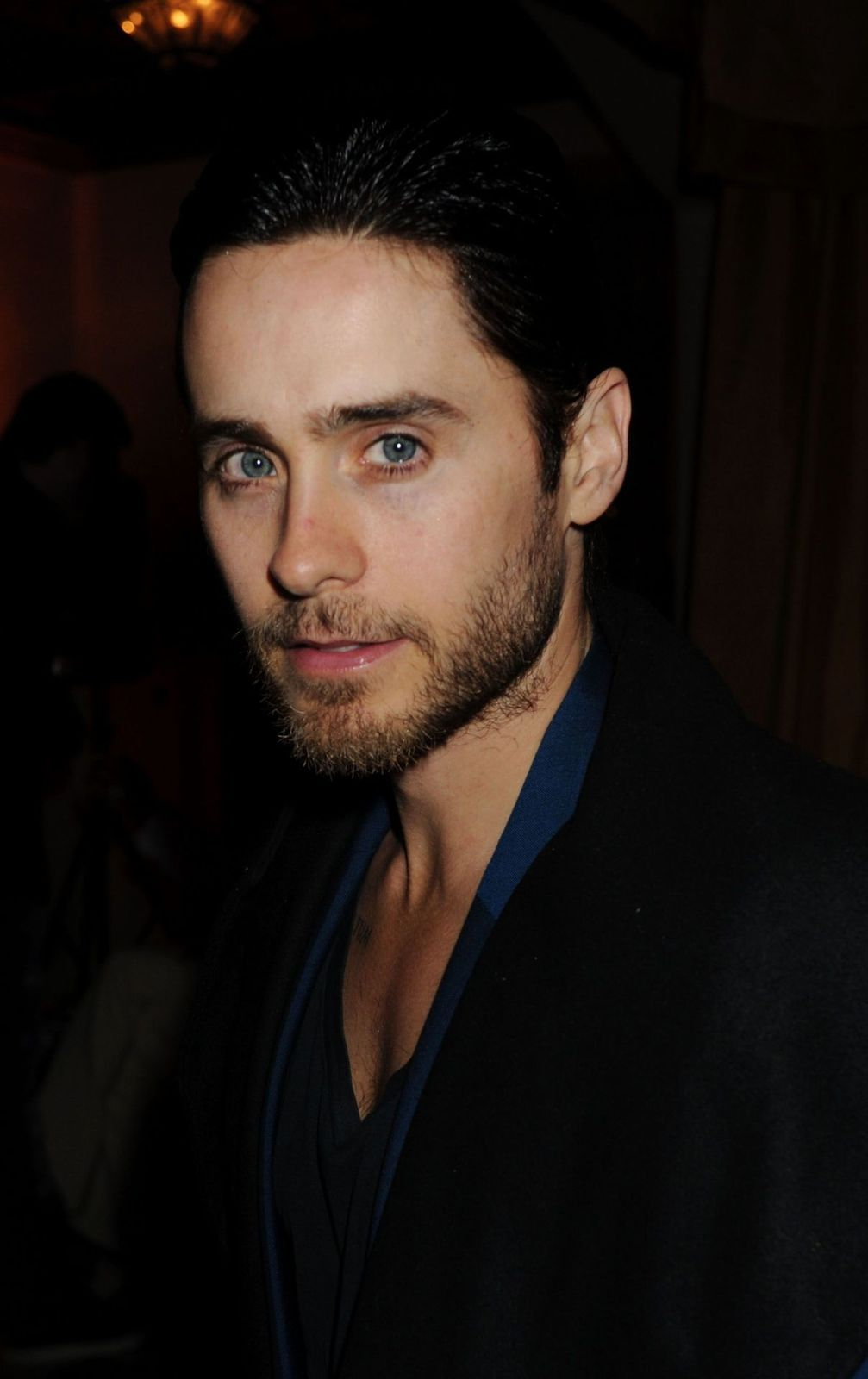 Jared Leto at 54th Grammy Awards Viewing Reception hosted by Lucian Grainge, 12 Février 2012 002