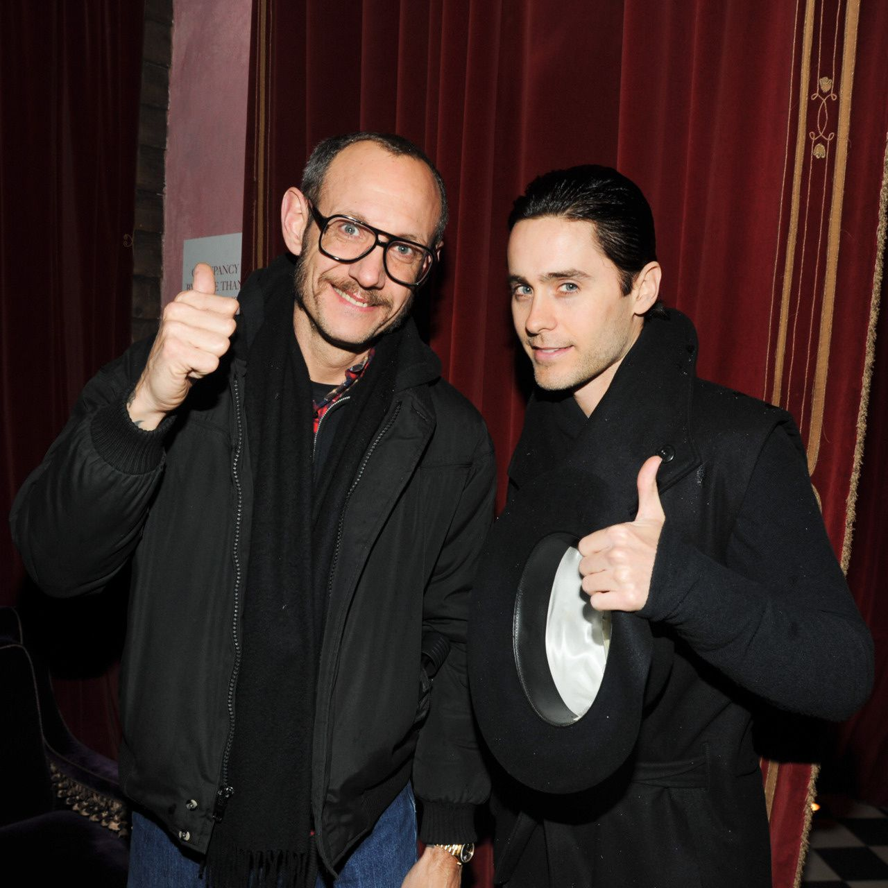 Jared Leto at the private dinner celebrating the Fall 2012 collection 002