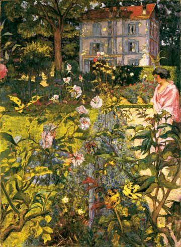Deux femmes et un jardin d' Anne Guglielmetti  Le-jardin-de-vaucresson-edouard-vuillard