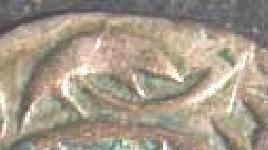Dinero melgorés de Montpellier (s. XII-XIV) Melgueil-poisson-oeil