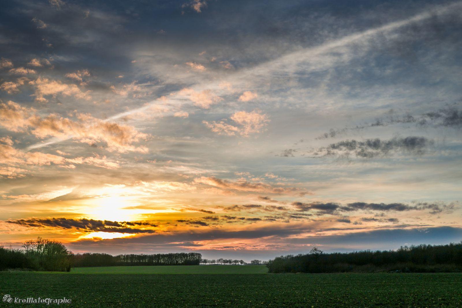 Soleil du soir Paysages-1212