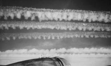 CHEMTRAILS, VRAI OU FAUX ? 1944-91st-bomber-contrails