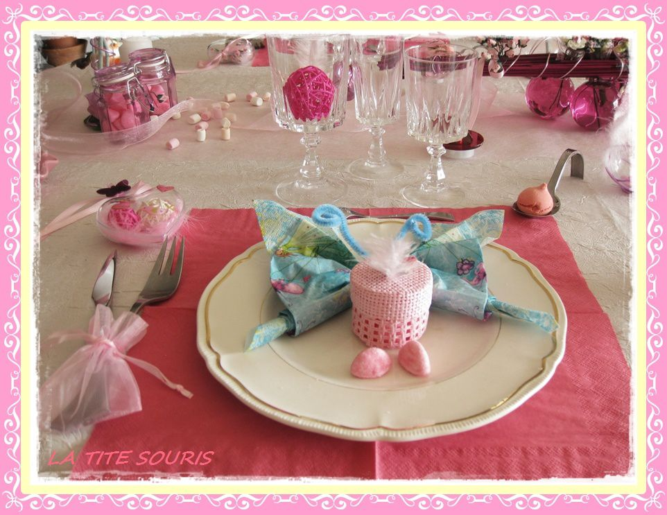 ma deco de table en ROSE Table-rose-5