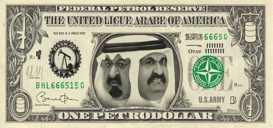 Mais pourquoi les États-Unis s'acoquinent-ils avec les islamistes radicaux ? 00-Qatar-USA-Arabie