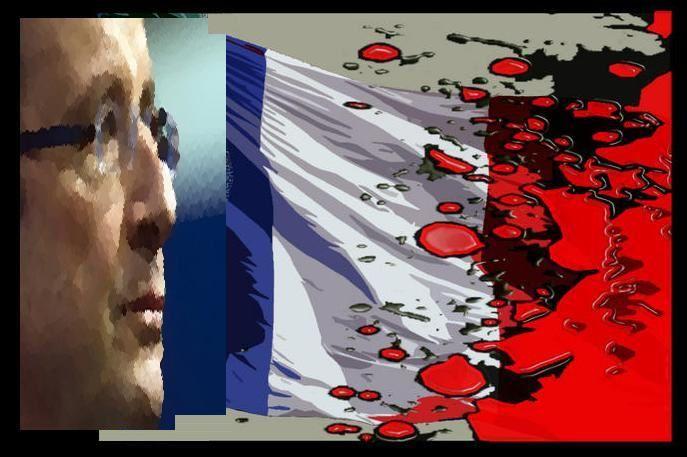 Le visage de l'impérialisme français, ou qui est aux commandes ? Révélations. ETAT-FR-PS--BLEU-BLANC-MASSACRE