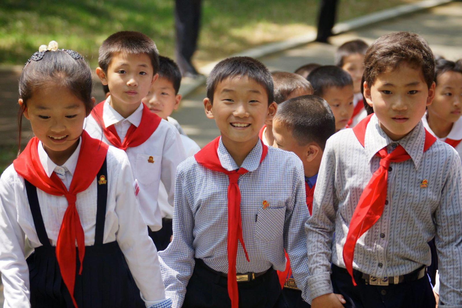 Corée du Nord Krean-kids-1