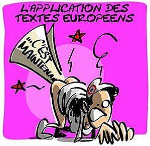 Les institutions européennes n'aiment pas les femmes L-application-des-textes-europeens-