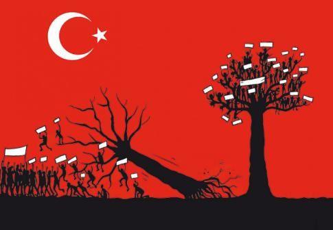Le point sur la situation en Turquie Manifestations-en-Turquie