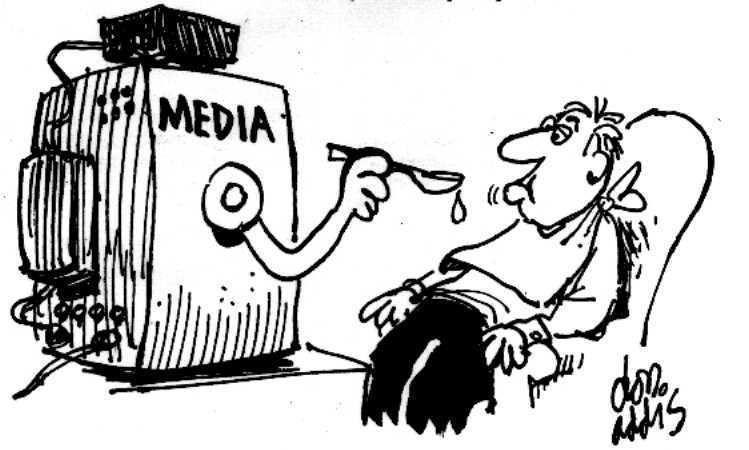 « Dissidents » Media-spoonfeeding-cartoon
