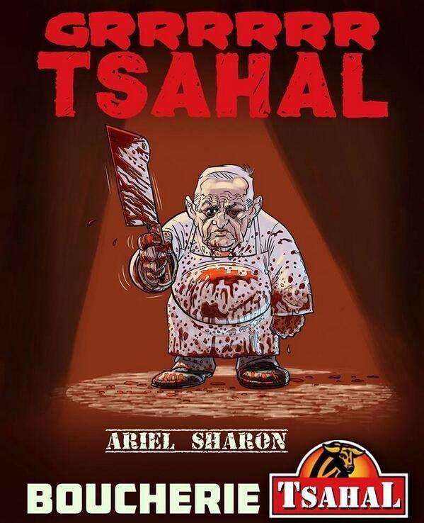 À propos de la mort d'Ariel Sharon Ariel-Sharon