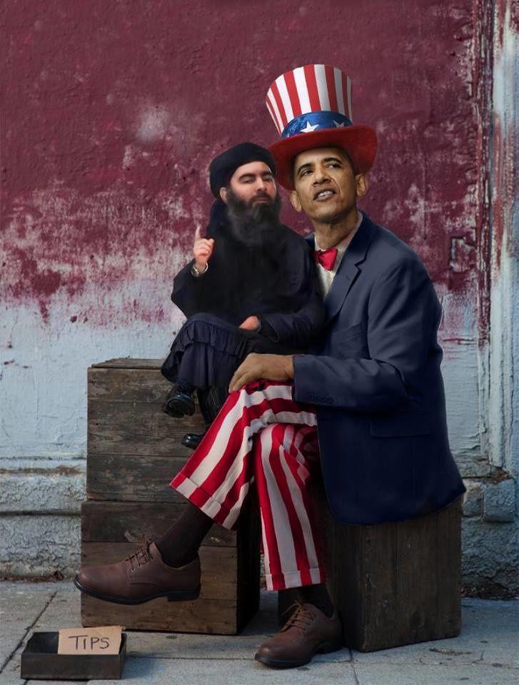 Comment et pourquoi les États-Unis ont créé l'État islamique… Obama---EI