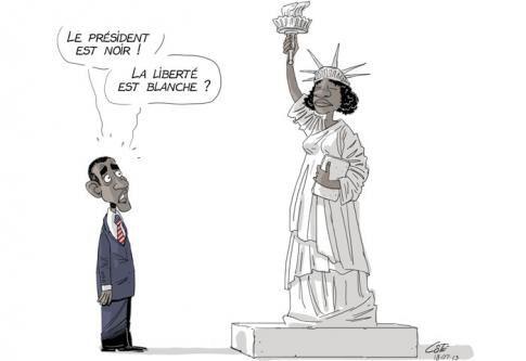 États-Unis : une société structurellement raciste President-blanc-et-liberte-blanche