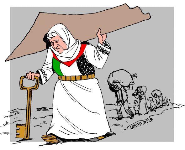 Réfugiés palestiniens. L'inconditionnel espoir de retour Refugies-palestiniens