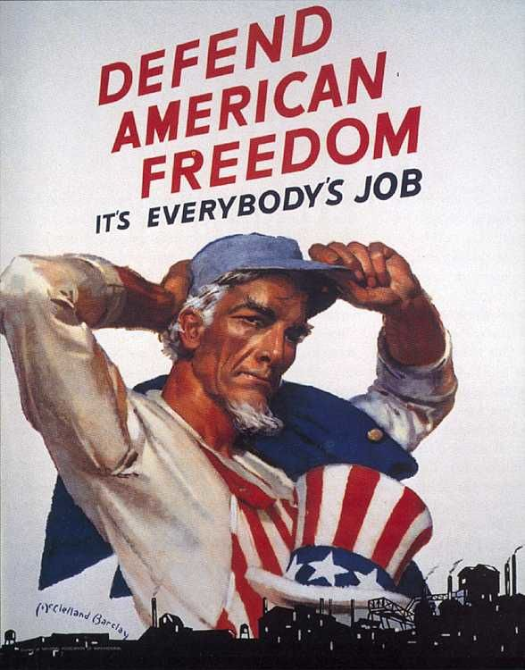 Les travailleurs du tiers-monde esclaves de l'Oncle Sam Uncle-Sam-american-freedom