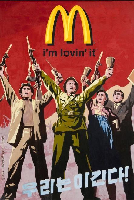 La « McDonaldisation » est l'essence-même du capitalisme Mcdonald