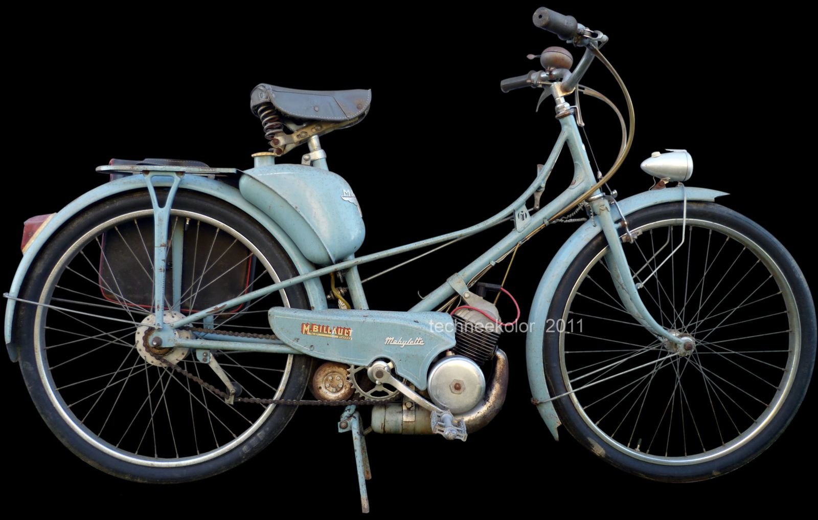 mobs vintage  ; motobécane AV3 1951 Galet1