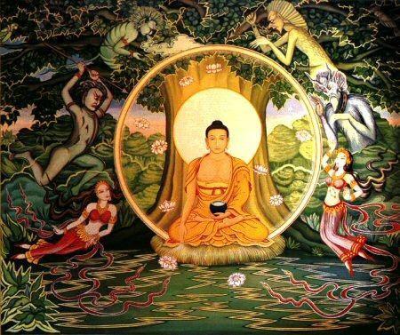 L'Arbre : Symbole de Vie Siddhartha_gautama-maraIllumination