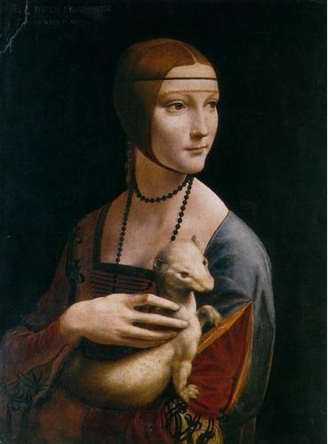 """ La Vie de Peintres Célèbres en Vidéo "" La-dame-a-la-licorne-leonard-de-vinci_1233587324"