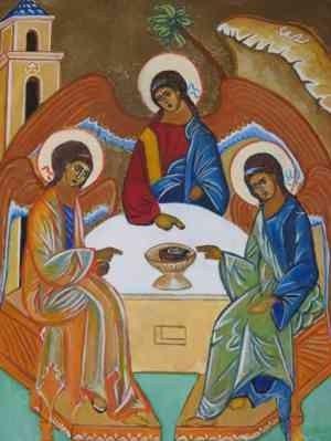 JESUS Christ est vraiment né le 25 décembre, par Clarisse Delorient - Page 2 Trinite