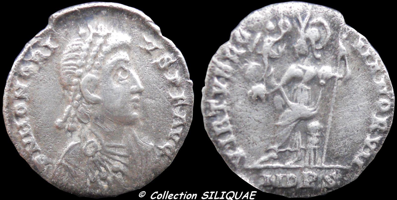 Collection Siliquae HONORIUS-RIC1228e