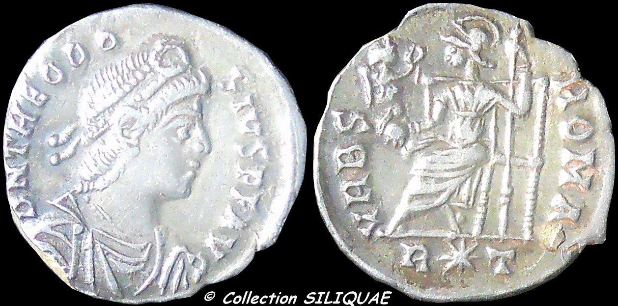 Collection Siliquae THEODOSE_RIC35c