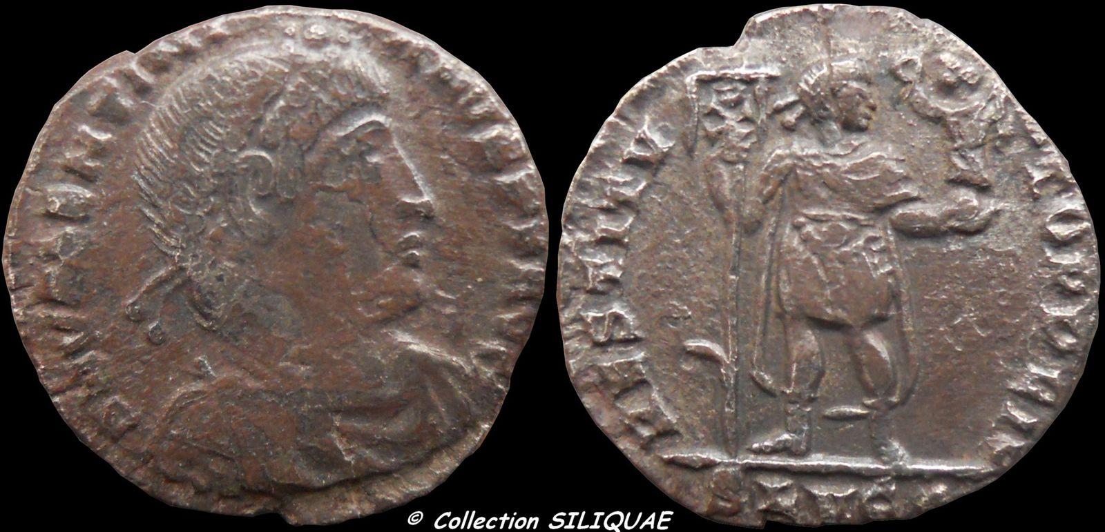 Collection Siliquae VALENTINIEN-I-RIC6b4