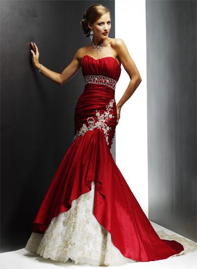 لعشاق اللون الأحمر Red-wedding-dress1