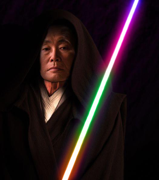 Favorite Lightsaber color? Which will you wield? - Page 2 Japanese-jedi-george-takei