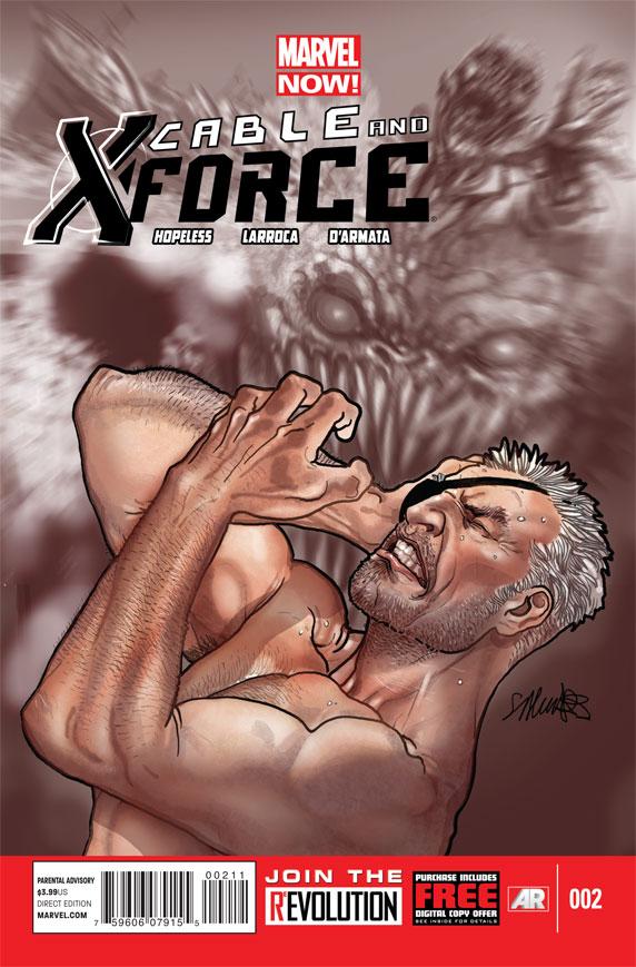 [Quadrinhos] Panini | Nova Marvel | Checklist Fevereiro 2014 - Página 2 Cable-and-X-Force_2