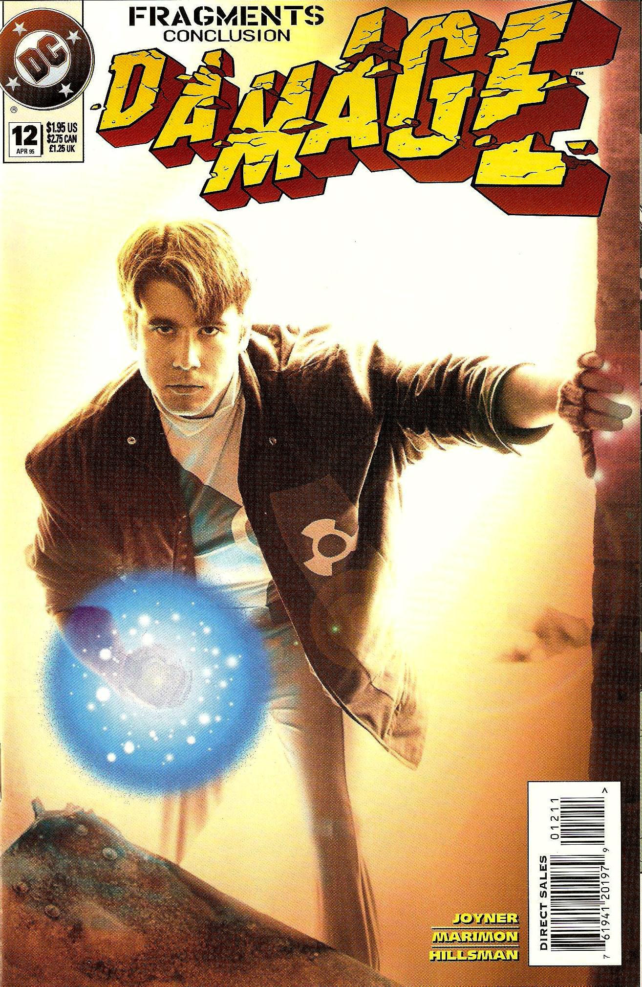 [Comics] ¡Colección Completa! - Página 13 Damage-12-1995-Cover