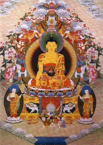 Les 4 nobles vérités ( DHAMMA-CAKKAPPAVATTANA  SUTTA ) Bthnk001