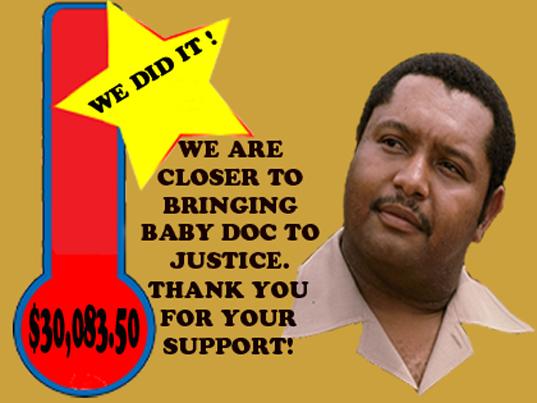 Anba Anpil Pressyon, Martelly Fe Bak Sou Zafe  Padone JC Duvalier Newbaby-1