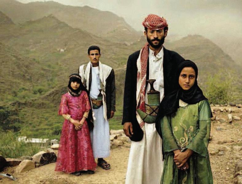 Genti luoghi e paesi ... Yemen-spose-bambine-256763