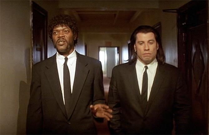 ¿Cuánto mide John Travolta? - Altura - Real height 23pulp-fiction16
