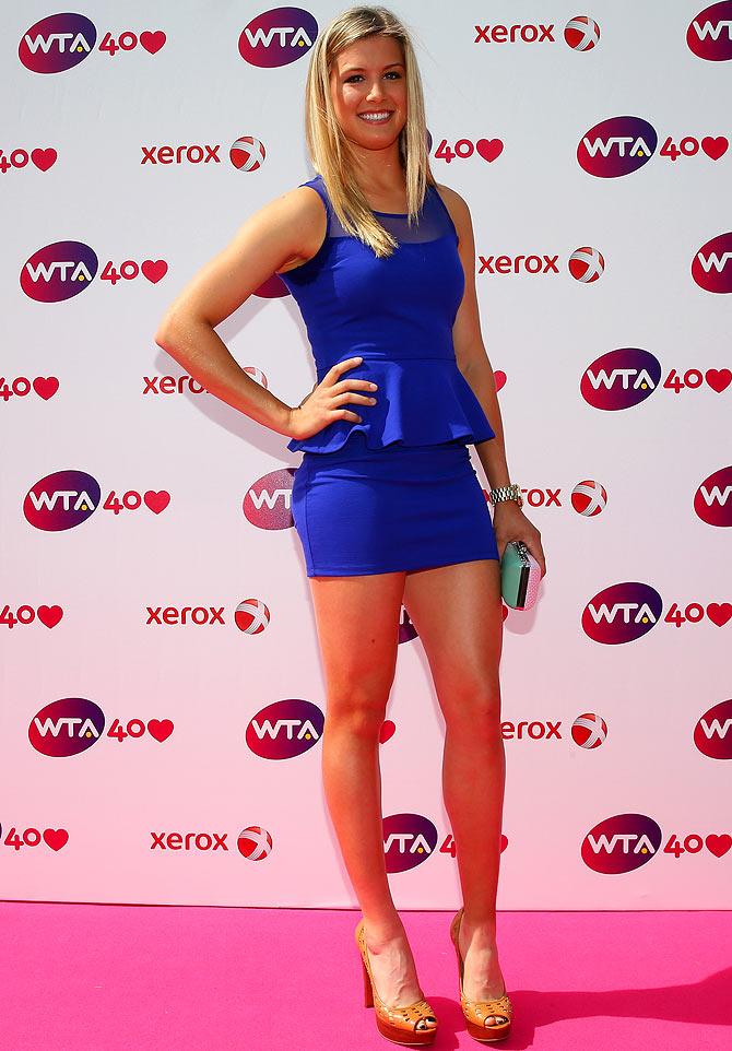 Eugenie Bouchard en quart de finale 27spec1