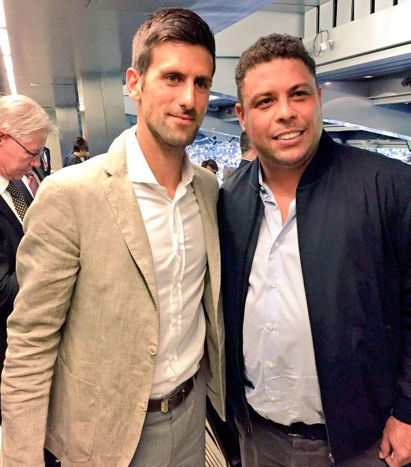 ¿Cuánto mide Novak Djokovic? - Altura - Real height 05djoko-ronaldo