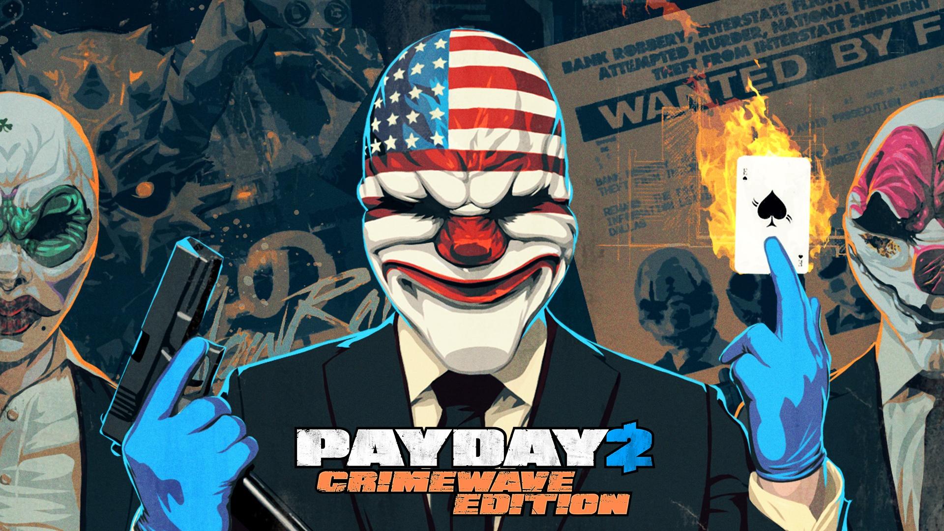 PAYDAY 2: CRIMEWAVE EDITION CHEGA PARA PS4 E XBOX ONE POR R$ 200 Crimewave01_c4kf