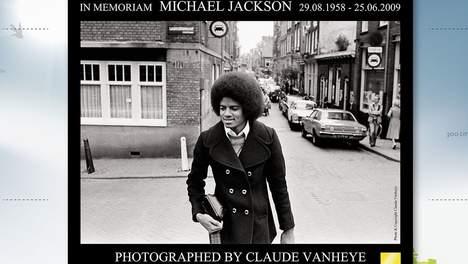 Ad Amsterdam esposta foto d'epoca di Micheal Jackson  1885859508