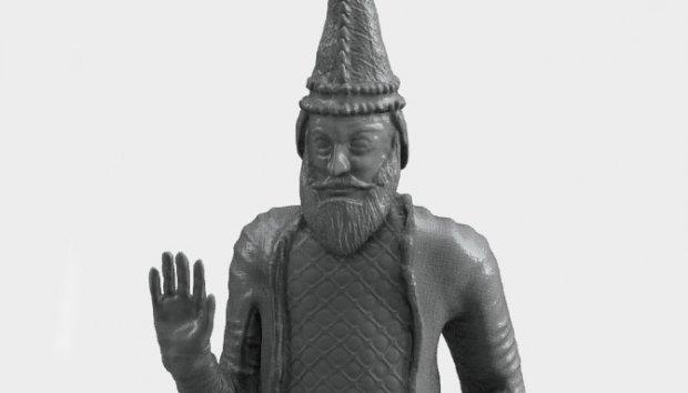 Impresión 3D para recuperar esculturas destruidas por ISIS King-uthal-reconstruido-en-impresion-3d
