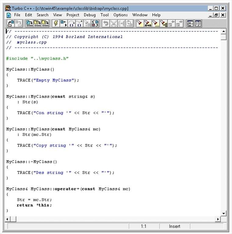 Turbo C/C++ 4.5[Ultima version] Turbo-c-4955-1